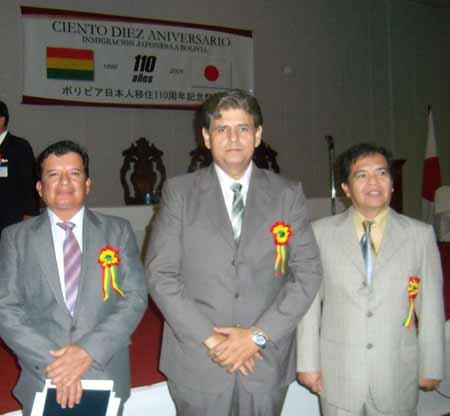 Subprefecto, Alcalde y Angel Cosio