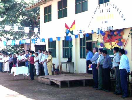 acto de homenaje a los 50 años de Tumichucua