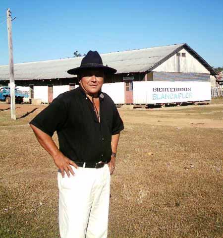 alcalde de San Lorenzo Mamerto Robledo