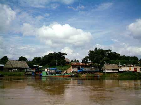aquí se forma el río Orthon Puerto Rico