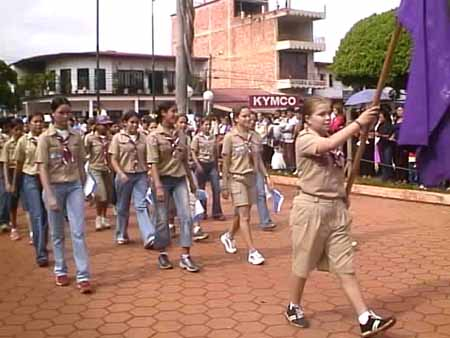 Boys Scouts en acción