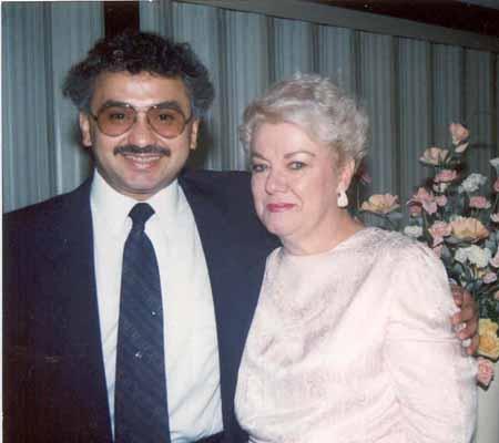 Chonfi y esposa
