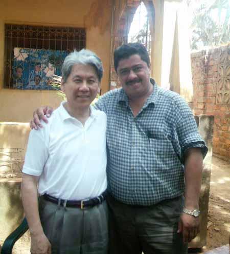 con Javier