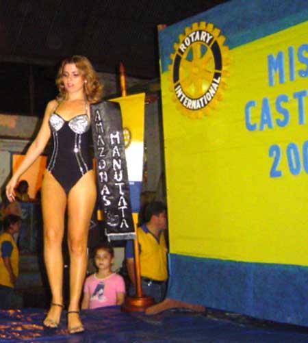 Daniela Quiroga Miss Castaña Bolivia