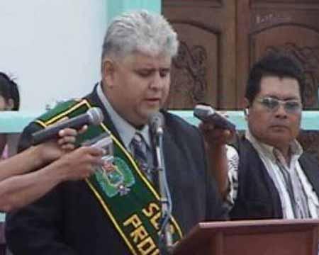 discurso del Subprefecto Agustin Vargas