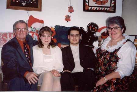 Enfermera y su Familia