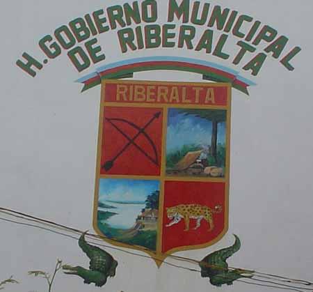 Escudo de Riberalta adorna la nueva alcaldía