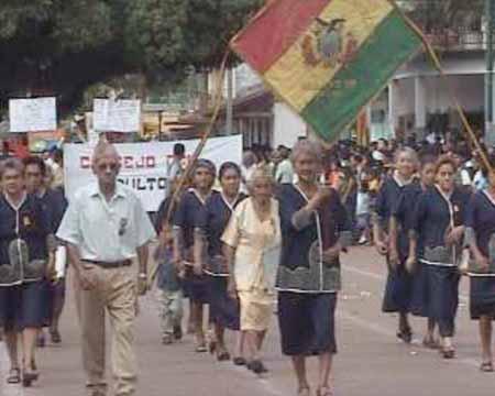 Excombatientes y viudas guerra del Chaco