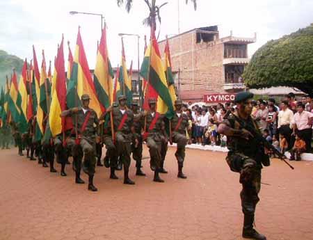 Fuerzas Armadas junto al pueblo