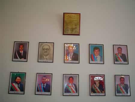 Galera de Alcaldes Constitucionales