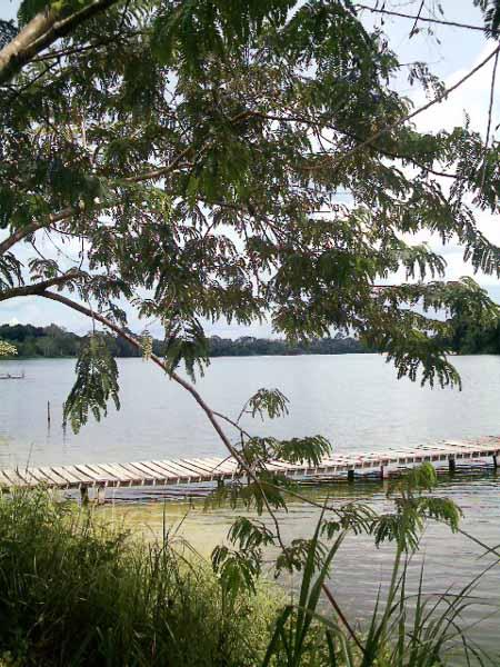 hermoso lago de Tumichucua