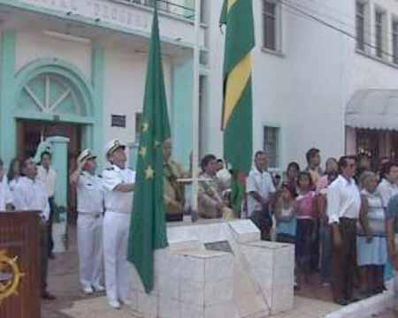iza de la Bandera
