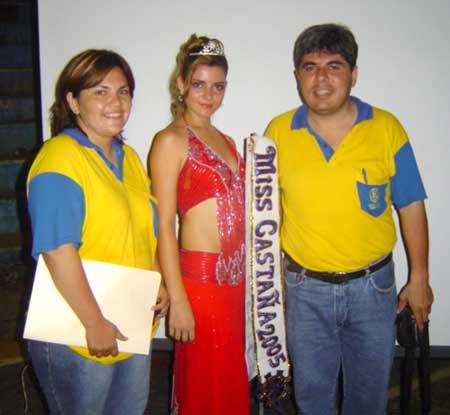 junto a los Directivos del Rotary Club