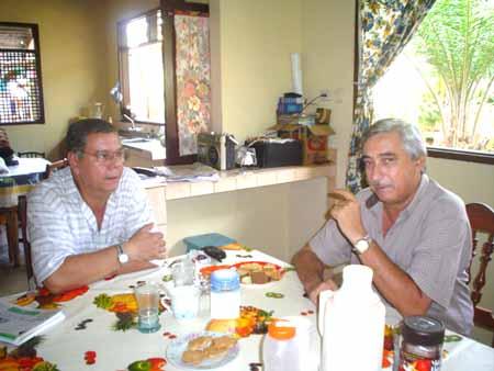 Miguel Angel y Miky Suárez