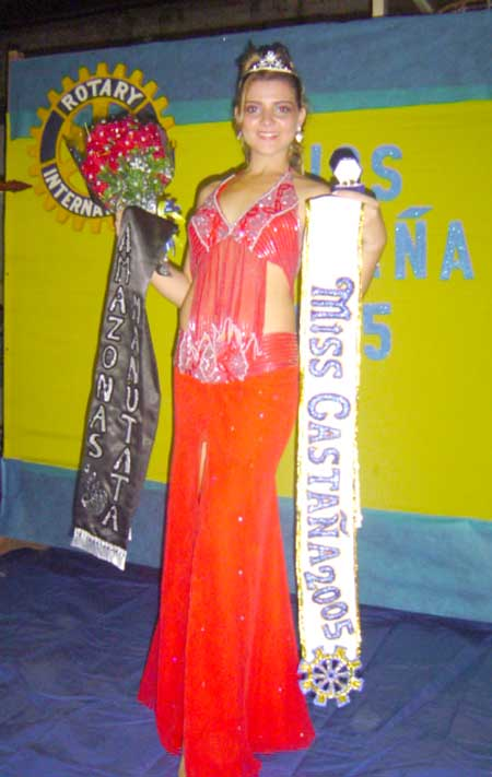 Miss Castaña Bolivia Daniela Quiroga Martinez