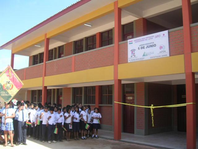 nuevo colegio 6 de junio