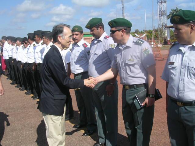 oficiales militares