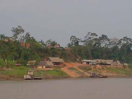 peña amarilla río Beni