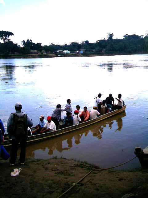 un efectivo medio de transporte en la amazonia