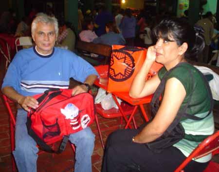 viajeros rumbo sc David Suárez Nuñez del prado y seora