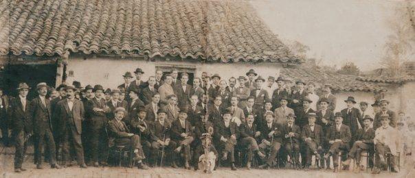 Reunión de ciudadanos congregados por el bien común 1923