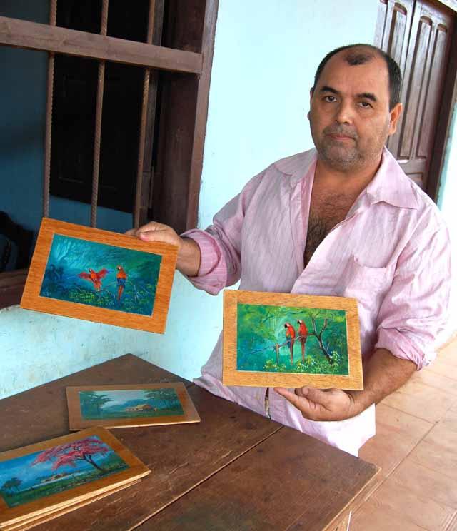 El pintor Roberto Yulow  2 640