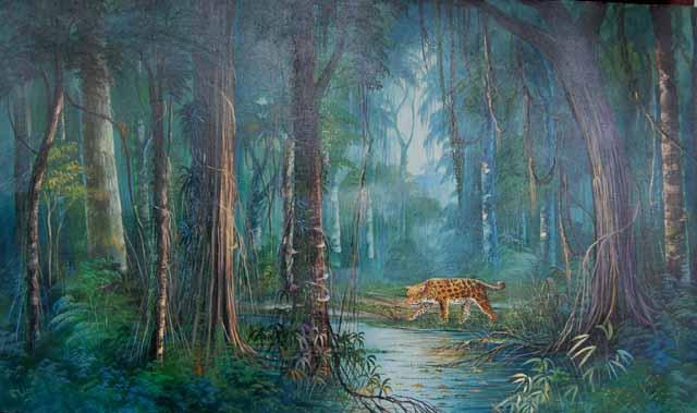 El pintor Roberto Yulow  3 640