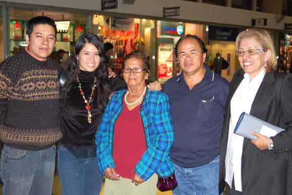 en el Aeropuerto saliendo a Bolivia
