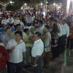 Ex alcaldes José Salvatierra, concejales, Pepe Destre, Chacho Abularach, doña Bebi Bezerra, Juan Ferreira, entre otros actuales y ex autoridades